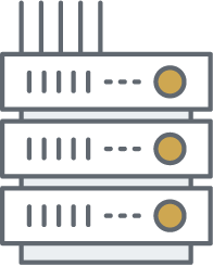 Canadian Data Center Icon